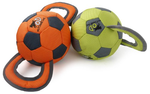 Outdoor Dog – Jouet Balle Soccer – Orange