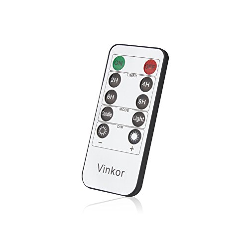 Vinkor flameless Candle Remote Control(ONLY Suitable for Vinkor flameless Candles)