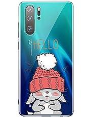 Oihxse Transparente Silicona Case Compatible con Sony Xperia 10 Funda Suave TPU Protección Carcasa Moda Dibujos Animados Divertida Diseño Ultra-Delgado Cubierta-Conejo