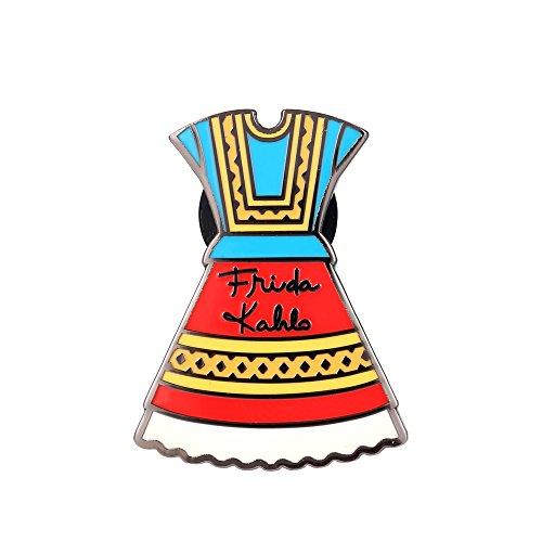 Fengteng Frida Kahlo Kleidung Reversnadel Rock Abzeichen Lapel Pin Brosche Modene Schmuck