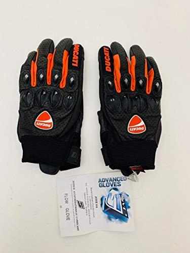 Kurze Handschuhe Short-Gloves kompatibel mit Ducati Flow Black TG S Neu Original Code 981015023