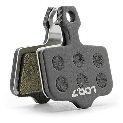 LOQ.7 Fahrrad Scheibenbremsbeläge semi metallisch für Avid Elixir, Sram Level, Trickstuff The Cleg