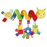 Juguete Colgantes Espiral del Animales para Cochecito, Cama, Cuna a Bebe, Juguetes para Bebés y Primera Infancia, Colgantes para Cochecitos con Multicolor