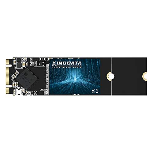 SSD M.2 2280 500GB KINGDATA Ngff Disco Duro Interno De Unidad de Estado Sólido de Alto Rendimiento para Computadora Portátil de Escritorio SATA III 6Gb/s(500GB,M.2 2280)