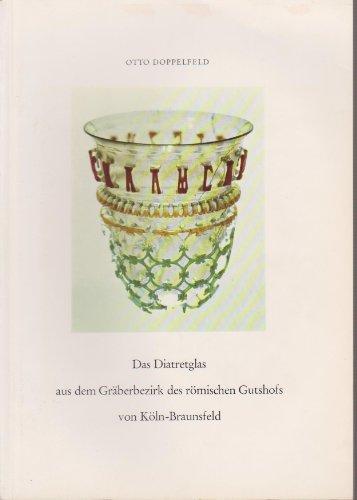 Das Diatretglas aus dem Gräberbezirk des römischen Gutshofs von Köln-Braunsfeld.