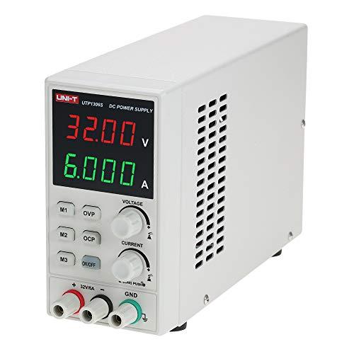 Docooler UNI-T schakelen DC-voeding LED verstelbare mini-voeding draagbare 4-cijferige display voeding 220V 50Hz voor elektrisch onderhoud, het opladen van de batterij en onderzoek in het laboratorium