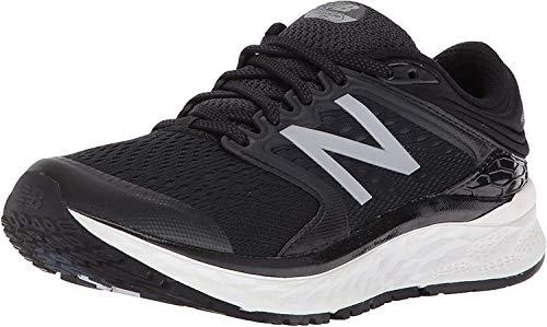 New Balance Women's 1080v8 Fresh Foam Running Shoe, Black/White, Size 5.0 US / 3 UK US