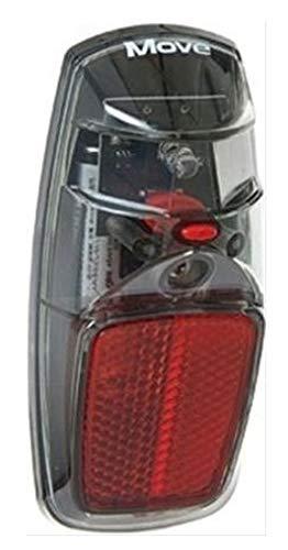 MOVE batterij achterlicht LED aan/uit zwart