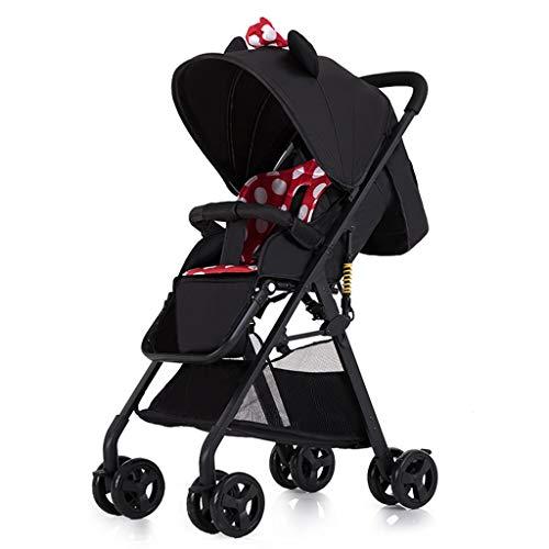 Best Deals! DZFZ Baby Stroller Can Sit and Lay Lightweight Folding Portable Pocket Umbrella High Lan...