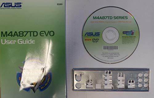 ASUS M4A87TD EVO Handbuch - Blende - Treiber CD