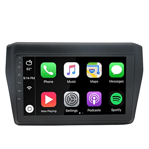 SFUO 2 Radio DIN Car GPS Navegación Estéreo WiFi 8 Núcleos 4G 64G DSP Android 10. 0 Coche Player Multimedia FIT FOR Suzuki Swift 2017 2018 2019 (Color : 2GB 32GB WiFi 4G Net)