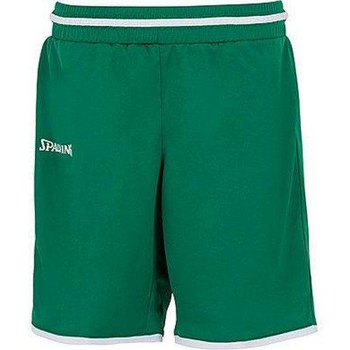 Spalding Move Short FR : XXS Taille Fabricant : 140 Marine//Blanc Mixte Enfant