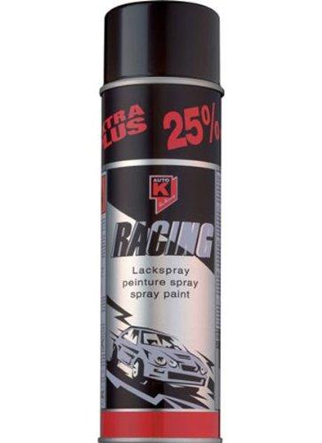 Auto-K Racing schwarz glanz Lack Spray Spraydose 500 ml