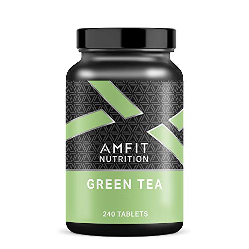 Amazon Brand - Amfit Nutrition Green Tea - 240 Tablets