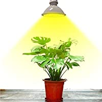 E27 LED植物成長球フルスペクトル、野菜、花、ハイドロポニック屋内植物を成長させるための温室植物成長球に使用(8W 200LEDs-2PACK)
