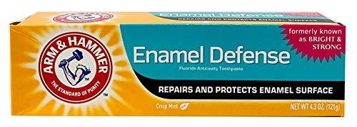 ARM & HAMMER Truly Radiant Whitening & Enamel Strengthening Toothpaste Fresh Mint 4.3oz - 2 Pack by Arm & Hammer