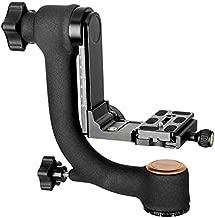 Koolehaoda Q45 Professional Gimbal Tripod Head with PU-70 QR Plate for Camera Telephoto Lens.