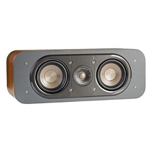 Polk Audio Signature Series S30 Center Channel Speaker (2 Drivers) | Surround Sound | Power Port Technology | Detachable Magnetic Grille,Black