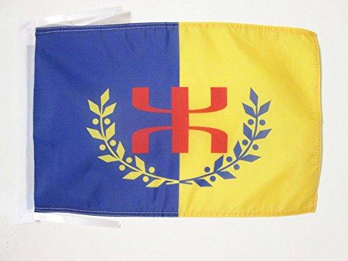 AZ FLAG Flagge KABYLEI GBP 45x30cm mit Kordel - Berber Fahne 30 x 45 cm - flaggen Top Qualität