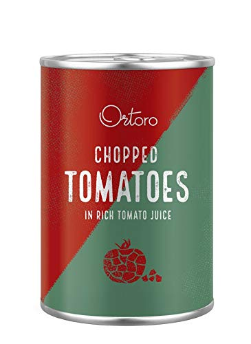 Ortoro - Polpa Gehackte Tomaten, 400g (12er-Pack)