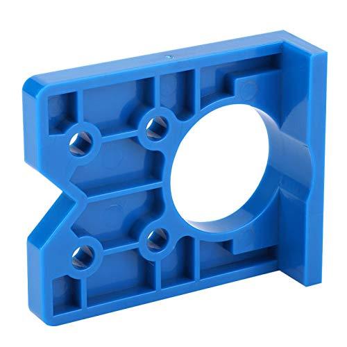 Strumento per la lavorazione del legno 77mm Lightweigh 66mm Ergonomic Door Boring Jig Hinge Hole Locator per la lavorazione manuale