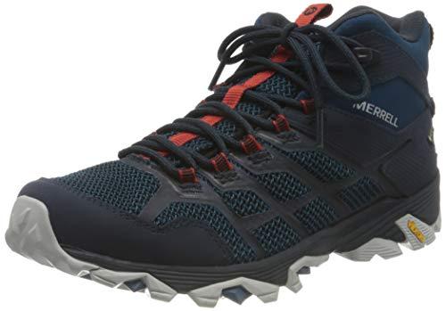 Merrell MOAB FST 2 Mid GTX, Zapatillas para Caminar Hombre, Azul (Sailor), 50 EU