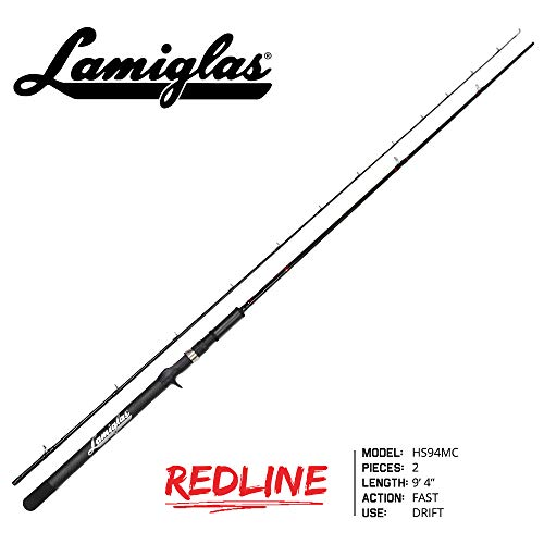 Lamiglas HS94MC Redline Series Rod, Black