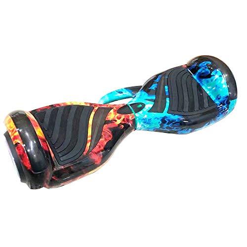 """6""""Polegadas Hoverboard Skate Eletrico Modelo Alça Gelo Fogo"""