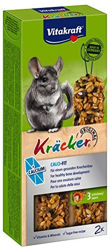 Vitakraft - 25062 - Kräcker Calcium Chinchillas P/2