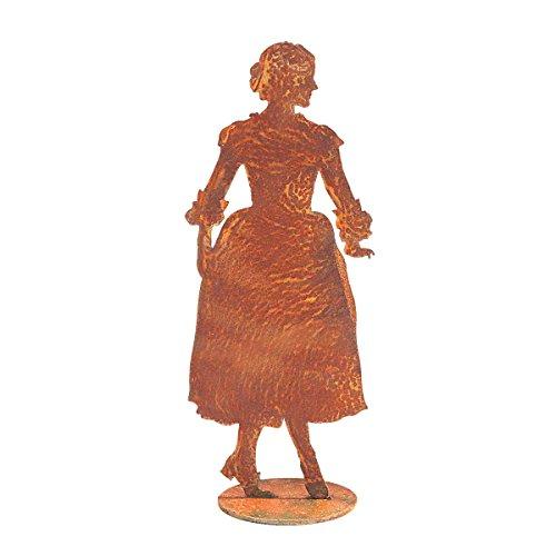 440s.de roestbarok, danserine, ca. 25,5 cm H, op plaat | SA-BTB | 4260553561014