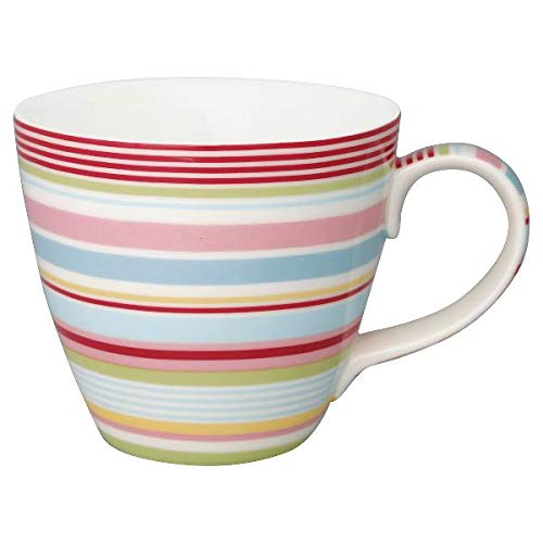 GreenGate - Henkeltasse - Tasse - Kaffeetasse - Mug - PIPA - Porzellan - Multicolor - 300 ml
