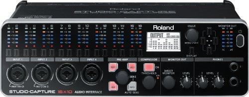 Roland UA-1610 STUDIO-CAPTURE 16-input, 10-output Hi-speed USB Audio Interface