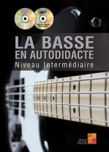 La basse en autodidacte - Intermédiaire (1 Livre + 1 CD + 1 DVD)