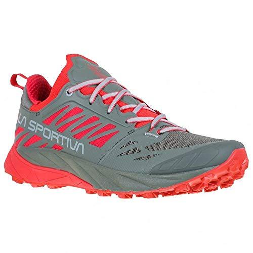LA SPORTIVA Kaptiva Woman, Zapatillas de Trail Running Mujer, Clay/Hibiscus, 39.5 EU