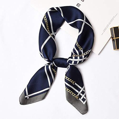 YDMZMS 70 * 70cm Zijde Sjaal Vrouwen Elegante Kleine Vierkante Sjaal Hoofd Sjaal Lente Herfst Mode Sjaals