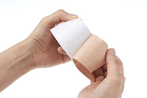 3M包帯粘着性綿布伸縮ライトブラウン5cm幅x5m1巻マルチポア2753-50