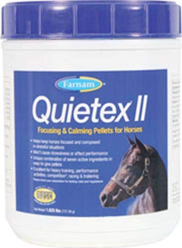Farnam Quietex ll 1.625lbs Focusing And Calming PELLETS For Horses
