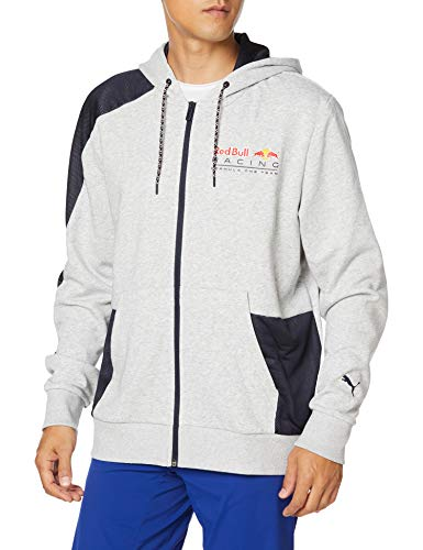 Red Bull Racing Street Zip Sudadera con Capucha, Hombres X-Small - Original Merchandise