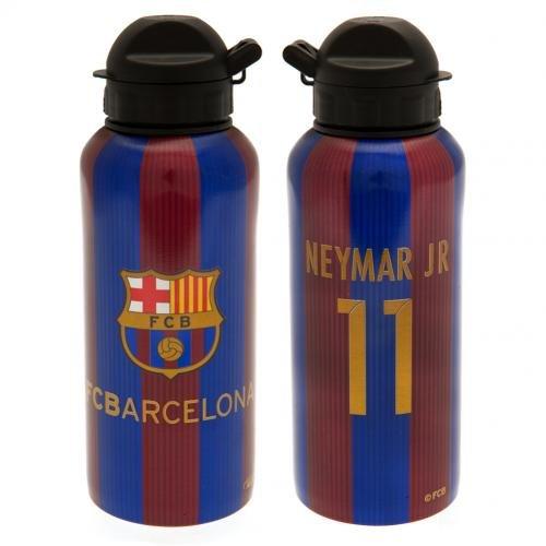 F.C. Barcelona Aluminium Trinkflasche Flasche Neymar Official Merchandise