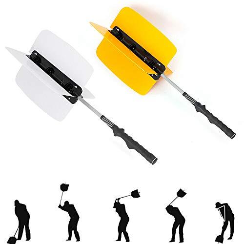 RANZHIX Golf Swing Power Fan Warm-up Trainer Golf Pinwheel Speed Training Grip Aids Practice Fan