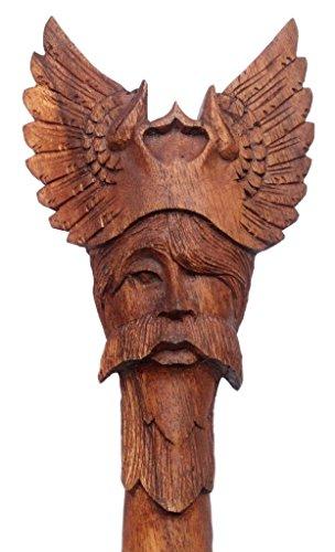 windalf Senderismo Varilla Odin H: 130cm madera