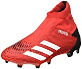 Adidas Predator 20.3 LL FG, Zapatillas Deportivas Fútbol Hombre, Gris (Active Red/FTWR White/Core Black), 39 1/3 EU