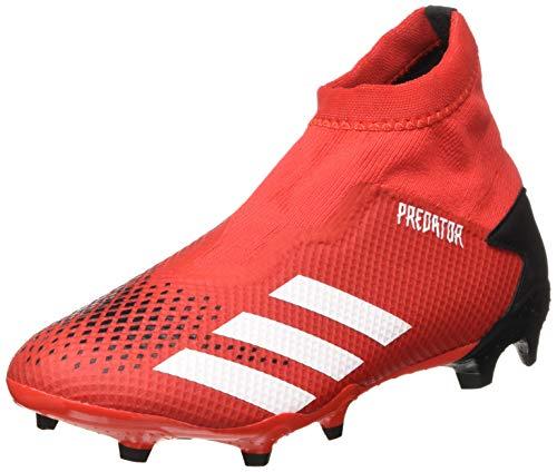 adidas Herren Predator 20.3 Ll Fg Fußballschuhe, Grau (Active Red/FTWR White/Core Black), 44 2/3 EU