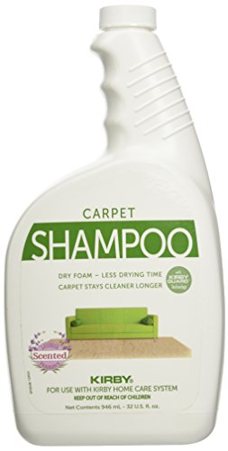 Kirby Vacuum Cleaner Quart Lavender Scented Carpet Rug Shampoo 32oz