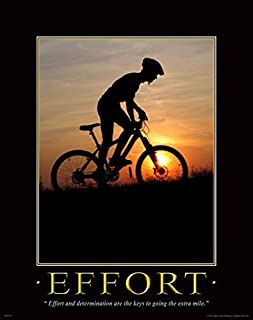 Bicycle Motivational Poster Art Print Mountain Bike Helmet Shorts Parts 11x14 Wall Decor Pictures