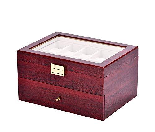 SUNSUY Joyería de la Caja de 20 Caja de Reloj de 20 Rejilla exhibición del Reloj Caja NXT