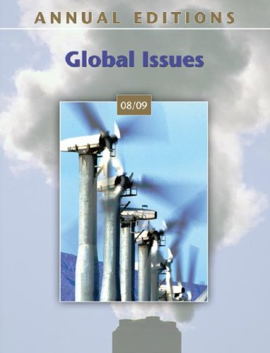 Annual Editions: Global Issues 08/09