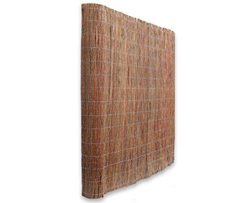 bambus-discount.com Weidenmatte Model Chiemsee 180 x 500cm - Sichtschutz Matten - Naturmatten