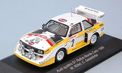 per AUDI QUATTRO S1 N.2 4th MONTE CARLO 1986 (Night Version) W.ROHRL-C.GEISTDORFER 1:43 - CMR Classic Model Replicars - Auto Rally - Die Cast - Modellino