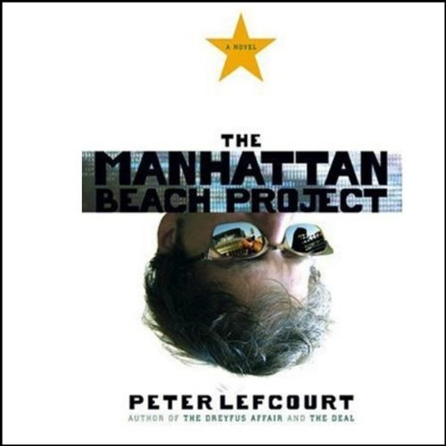 The Manhattan Beach Project audiobook cover art